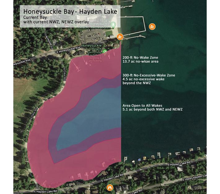 Proposed Honeysuckle Bay No-Wake Speed Zone 2