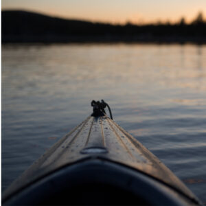 Canoe bow 52421